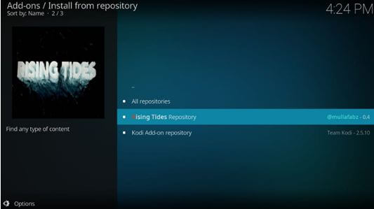 Kodi all repositories