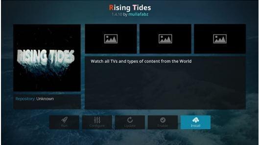 install Rising tides
