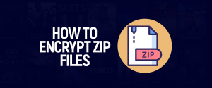 Encrypt zip files