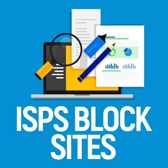 ISPs Block Sites