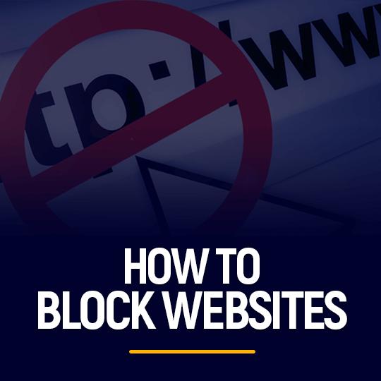 How to block websites