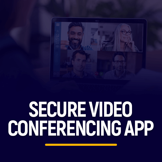 Secure Video Conferencing App