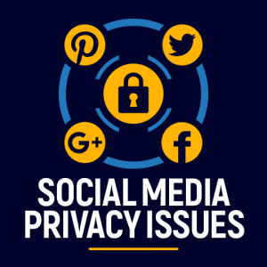 Social media privacy issues