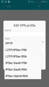 VPN on Android 2