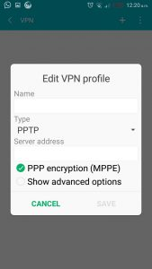 VPN on Android 3