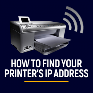 Find Printer's IP Address