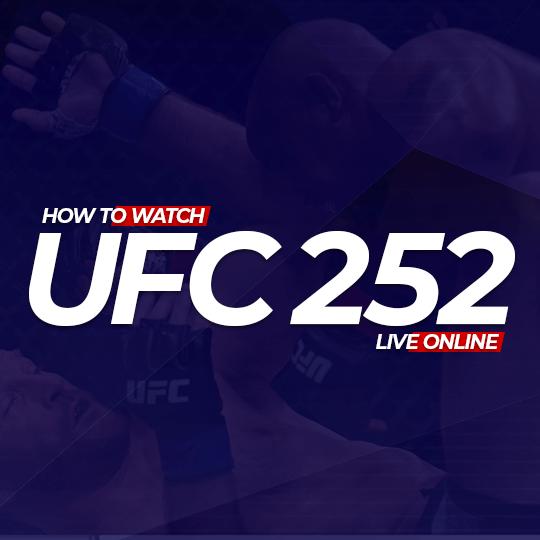 UFC 252 Live Online