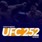UFC 252 on Kodi
