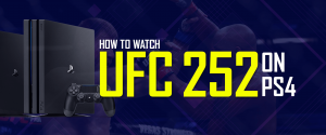 UFC 252 on PS4