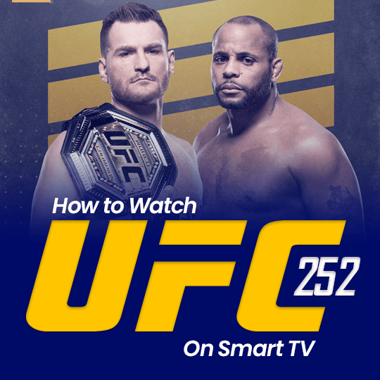 UFC 252 on Smart TV
