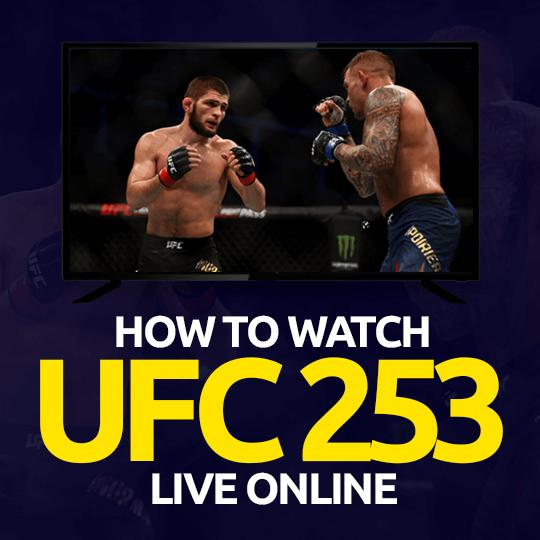 Watch UFC 253 Live Online