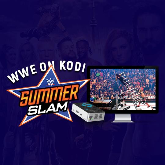 WWE on Kodi - SummerSlam
