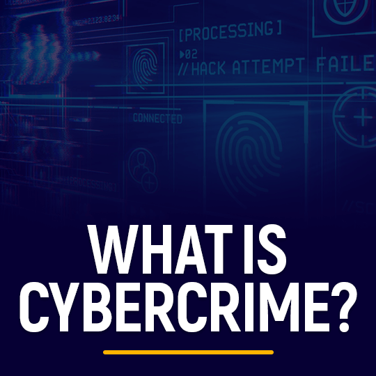 What is Cybercrime
