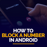 Block a Number in Android