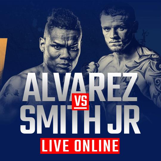 Watch Alvarez vs Smith Jr Live Online