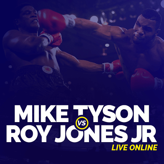 Watch Tyson vs Jones Jr. Live Online