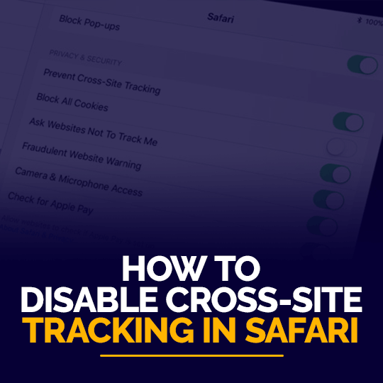 Cross-site Tracking
