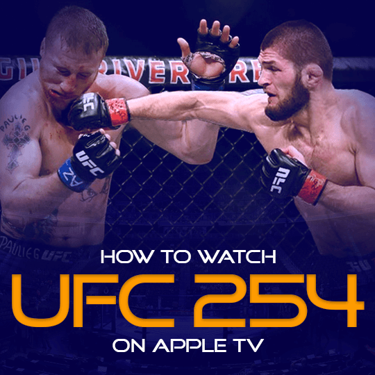 Watch UFC 254 on Apple TV