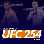Watch UFC 254 on Kodi