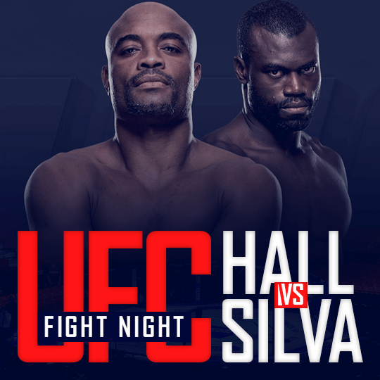 UFC Fight Night - Hall vs Silva