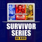 WWE Survivor Series on Kodi