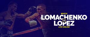Watch Vasiliy Lomachenko vs Teofimo Lopez live online