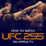 Watch UFC 255 on Apple TV