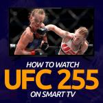 Watch UFC 255 on Smart tv