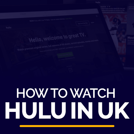 Watch Hulu in UK