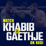 Watch Khabib vs Gaethje on kodi