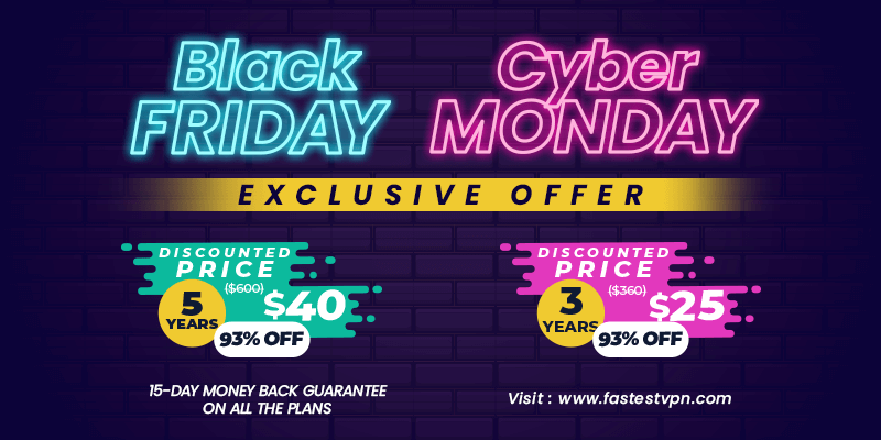 Black Friday / Cyber Monday Exclusive Offer