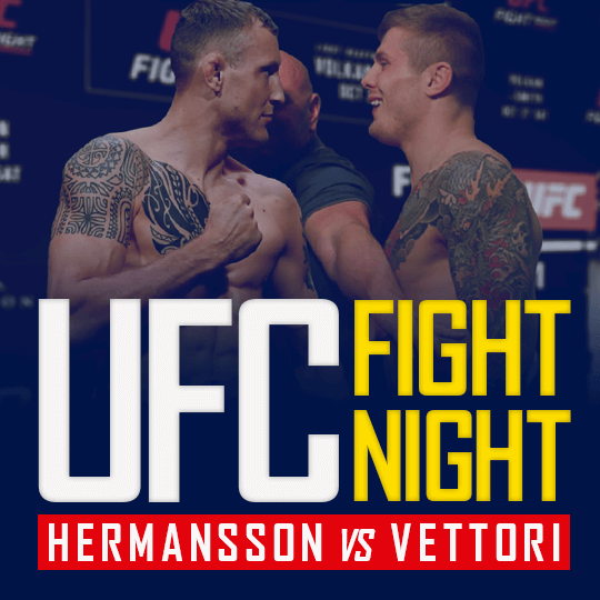 UFC Fight Night - Hermansson vs Vettori