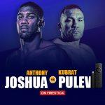 Anthony Joshua vs Kubrat Pulev on Firestick