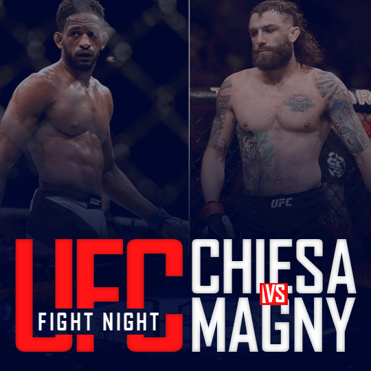 UFC FIGHT NIGHT - Chiesa vs Magny