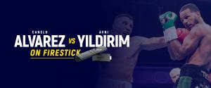 Watch Alvarez vs Yildirim on Firestick