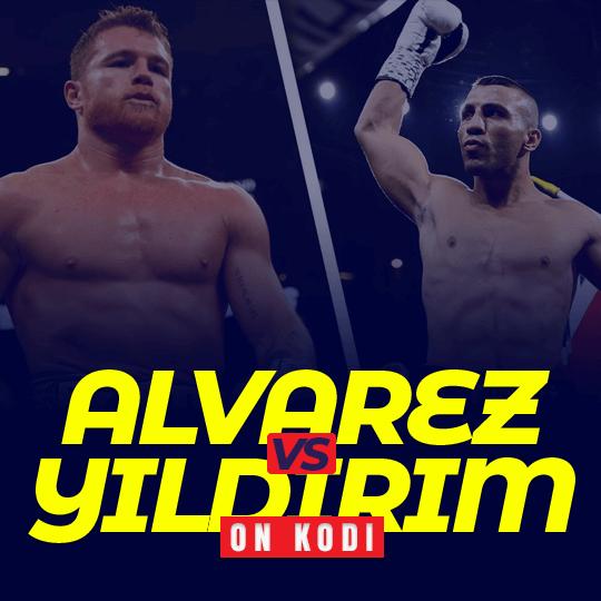 Watch Alvarez vs Yildirim on Kodi