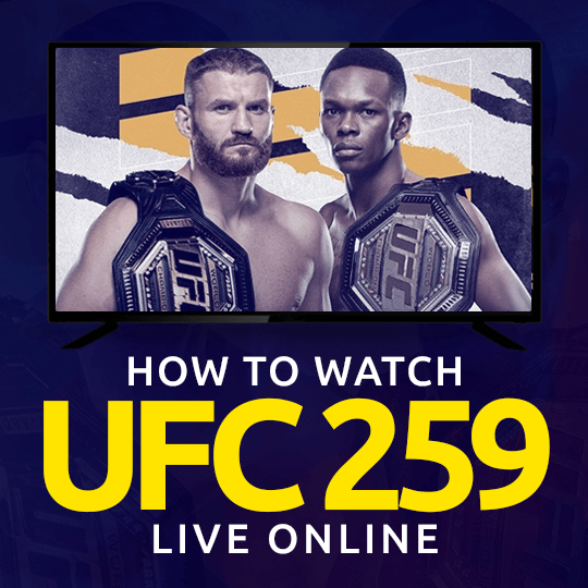Watch UFC 259 Live Online