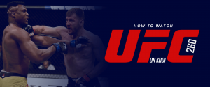 Watch UFC 260 on Kodi