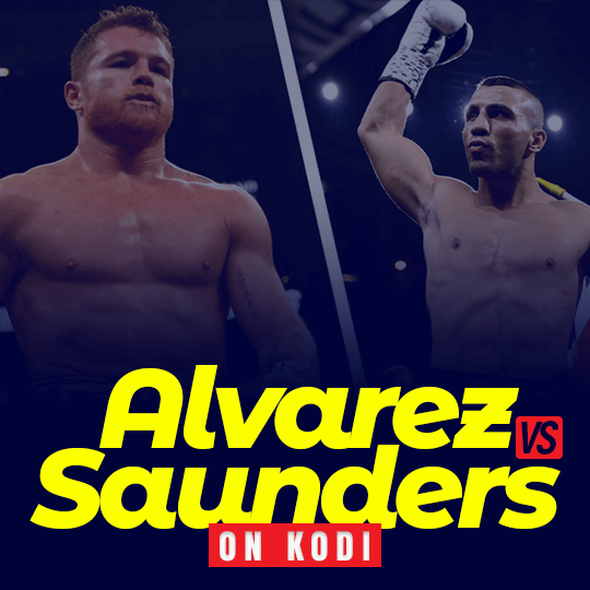 Canelo Alvarez vs Billy Joe Saunders on Kodi