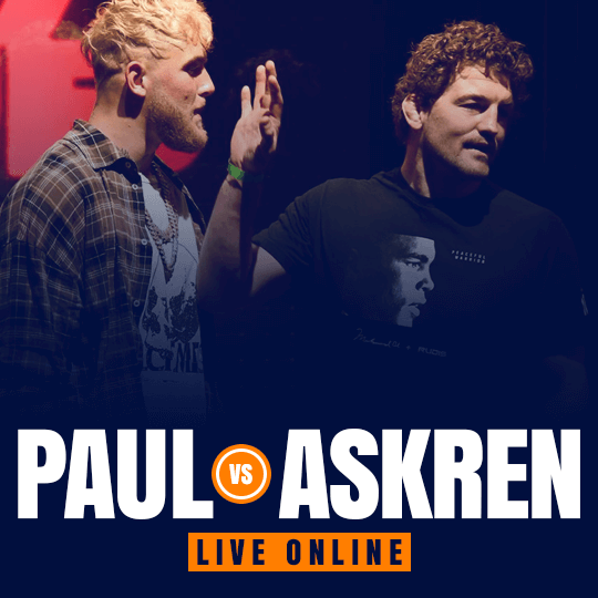 Watch Jake Paul vs Ben Askren Live Online