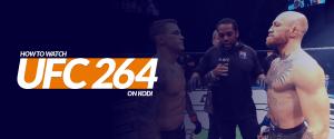 How to Watch UFC 264 on Kodi
