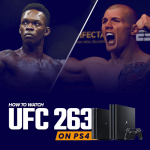 Watch UFC 263 on PS4
