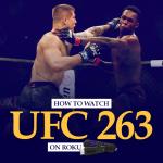 Watch UFC 263 on Roku