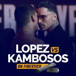 Teofimo Lopez vs George Kambosos on firestick