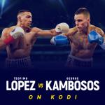 Teofimo Lopez vs George Kambosos on Kodi
