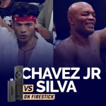 Watch Julio Cesar Chavez Jr vs Anderson Silva on Firestick