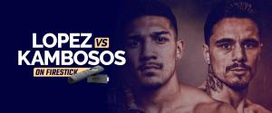 Watch Teofimo Lopez vs George Kambosos on Firestick