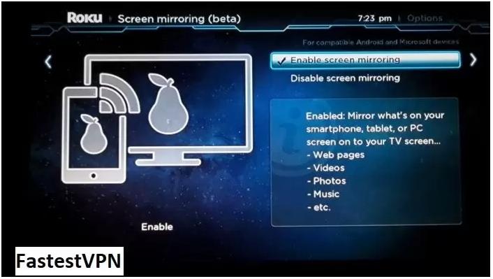 Install Kodi on Roku via Android Smart TV