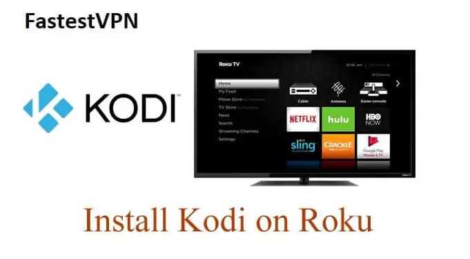 Install Kodi on Roku via Windows 10 PC