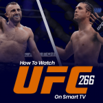 Watch UFC 266 on Smart tv